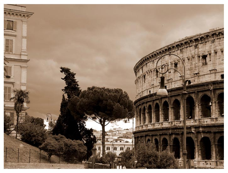 "photo ""Viva Roma!"" tags: architecture, travel, landscape, Europe"
