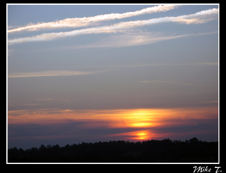 "photo ""Sunset #2"" tags: landscape, clouds, sunset"