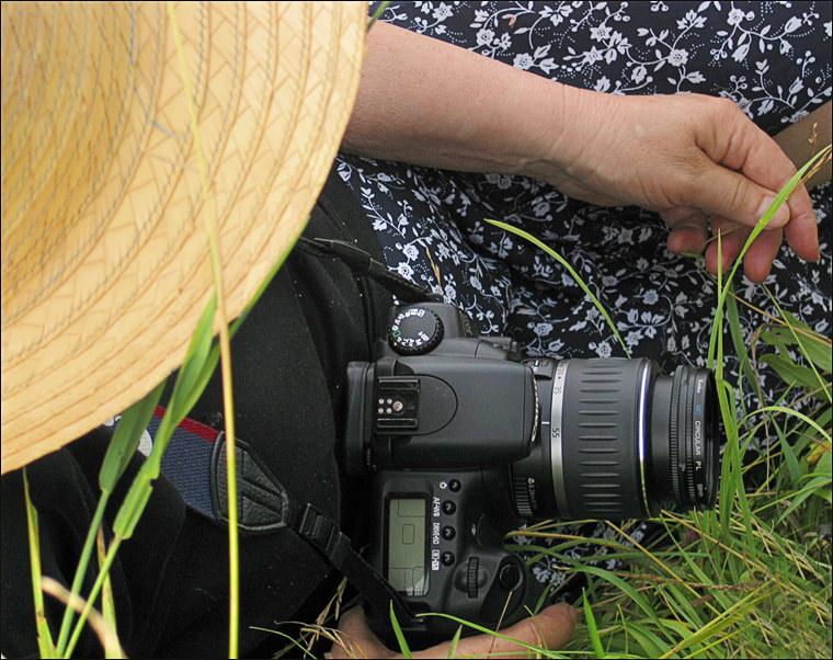 """photo """"Portrait of the photographer))"""" tags: genre, portrait, woman"""