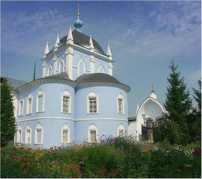 "фото ""Церковь св. Сергия"" метки: архитектура, пейзаж,"