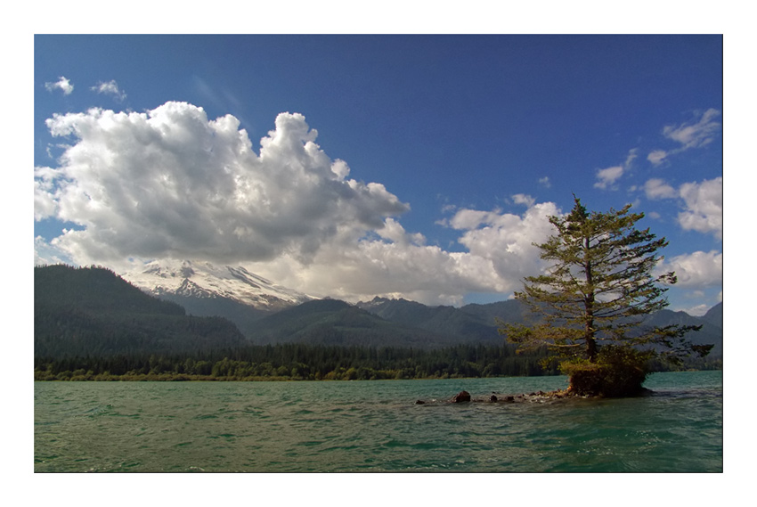 "photo ""Christmas Tree Island"" tags: landscape, mountains, water"