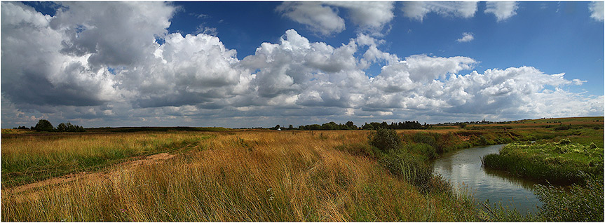 "photo ""The middle of summer"" tags: landscape, clouds, summer"