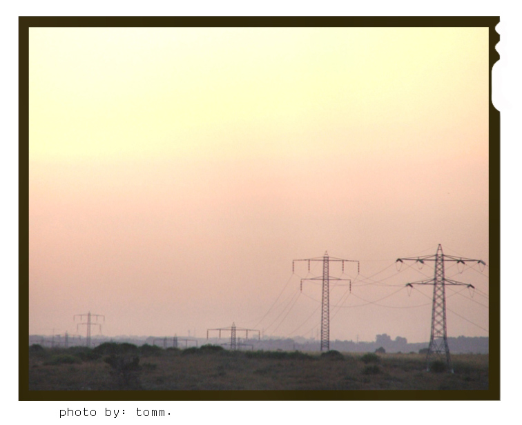 "photo ""Sunset outside of Jerusalem"" tags: landscape, sunset"