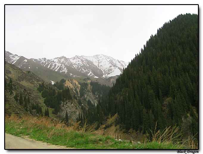"photo ""Almaty (2005) - Alatau #2"" tags: landscape, travel, Asia, mountains"