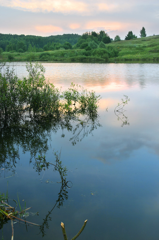 "photo ""Evening at the Lake"" tags: landscape, summer, water"