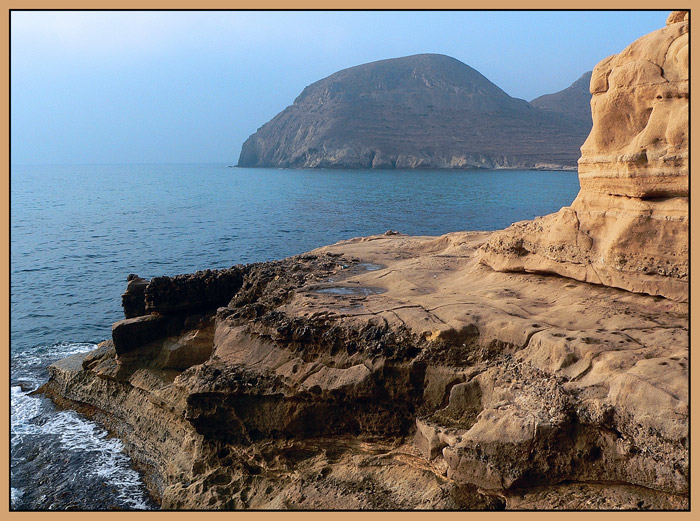 "photo ""The Cabo de Gata 2"" tags: landscape, mountains, water"