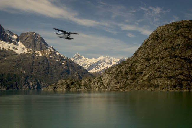 "photo ""Flying over Alaska"" tags: travel, montage, North America"