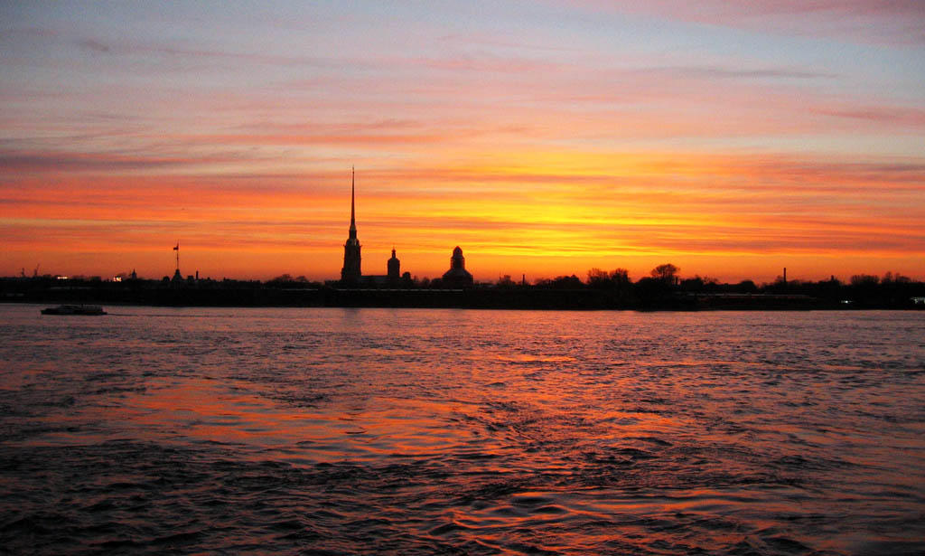 "photo ""St. Petersburg Sunset"" tags: travel, landscape, Europe, sunset"