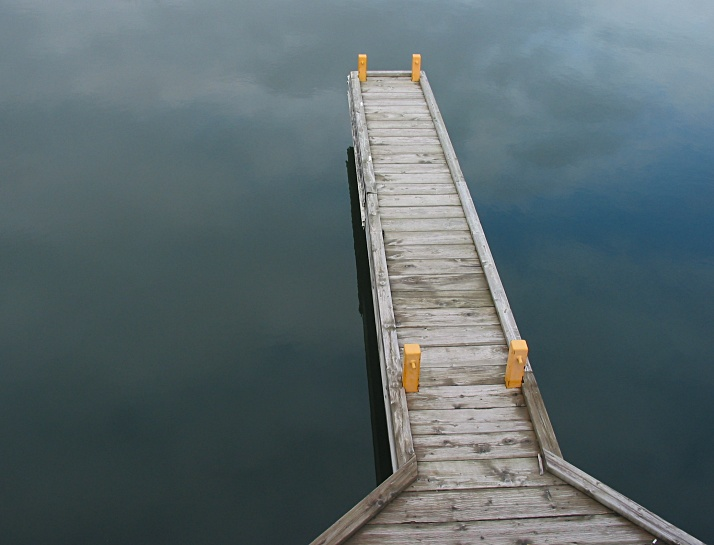 "photo ""dock to infinity"" tags: travel, landscape, North America, water"