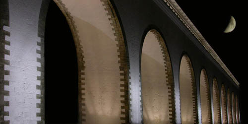 "photo ""Aqueduct1"" tags: landscape, night"