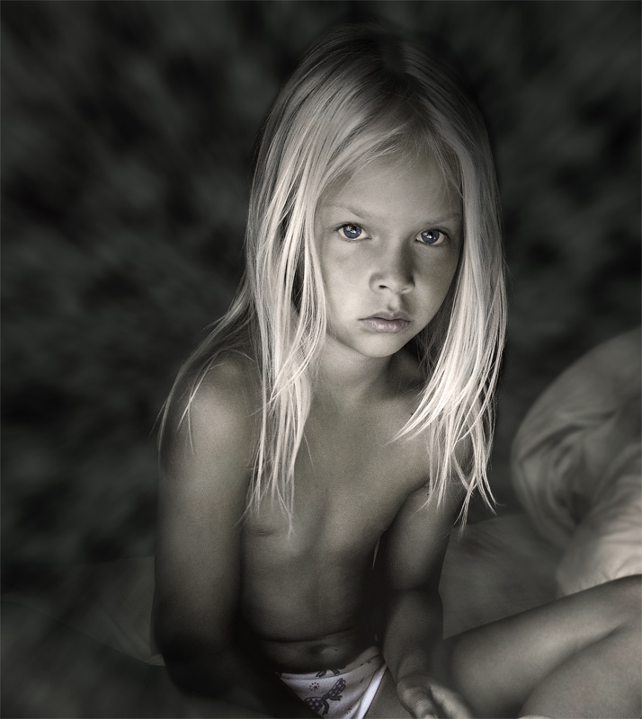 "photo ""morning"" tags: genre, portrait, children"
