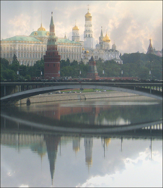 "photo ""Dreams about Moscow. On а Black, please"" tags: architecture, misc., landscape,"