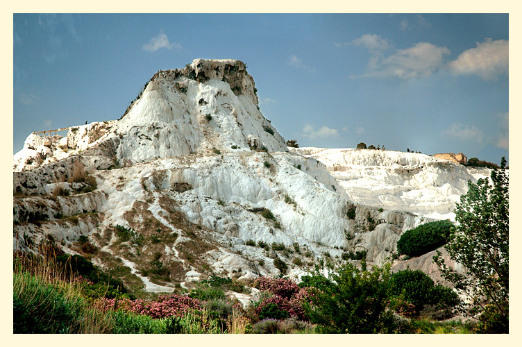 """фото """"Памуккале"""" метки: пейзаж, горы"""