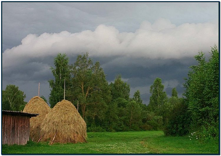 "photo ""Bad Weather"" tags: landscape, summer"