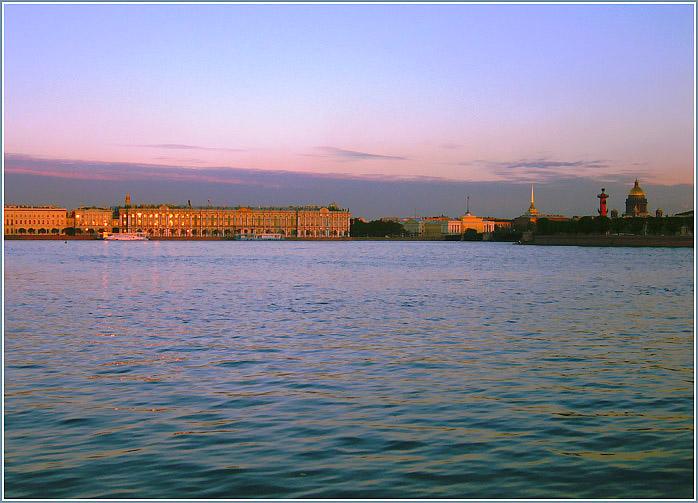"""фото """"Белая ночь... 23ч 50м"""" метки: архитектура, пейзаж, ночь"""
