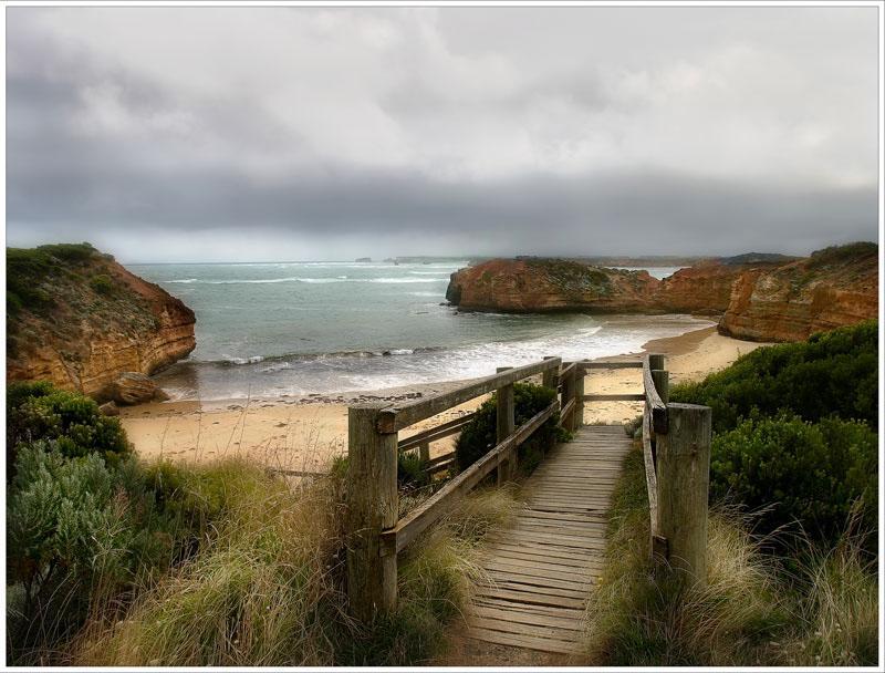 "photo ""On Great Ocean Road. Australia."" tags: travel, Australia"