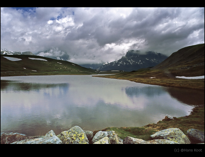 "photo ""Plan du Lac"" tags: landscape, clouds, mountains"