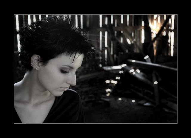 "photo ""Sad ..."" tags: portrait, woman"