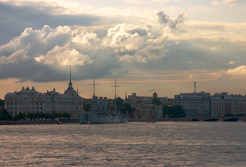 "photo ""Imperial St.-Petersburg#1. July."" tags: landscape, architecture, summer"