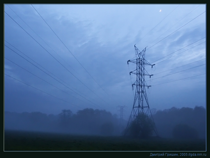 "photo ""The Fog"" tags: landscape, forest"