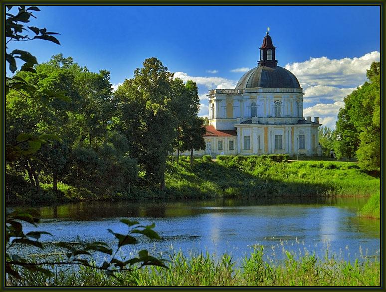 """фото """"В Ораниенбаумском парке #2"""" метки: пейзаж, путешествия, Европа, лето"""