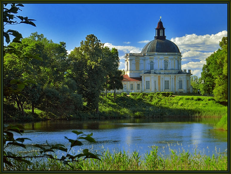 "photo ""In Oranienbaum park #2"" tags: landscape, travel, Europe, summer"