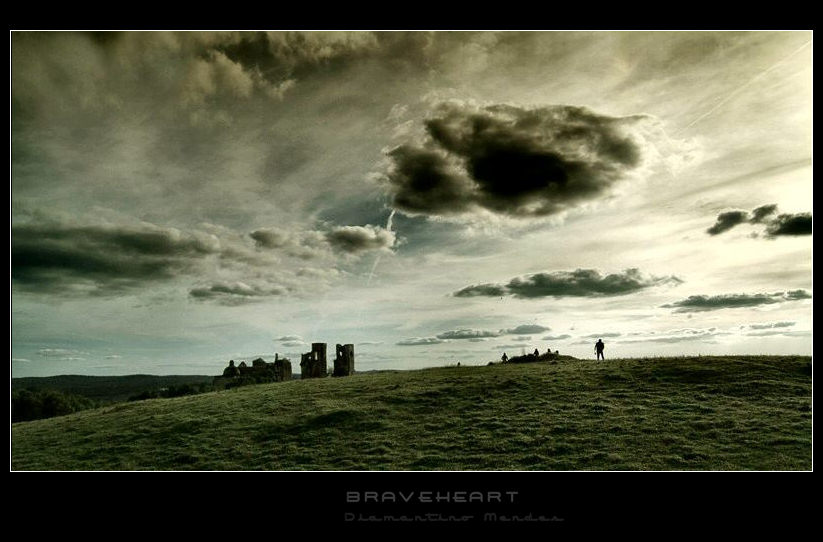 "photo ""Braveheart"" tags: landscape, clouds, mountains"