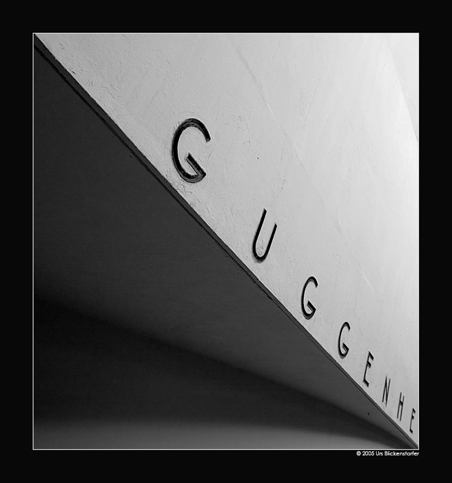 "photo ""Guggenheim"" tags: black&white, abstract,"
