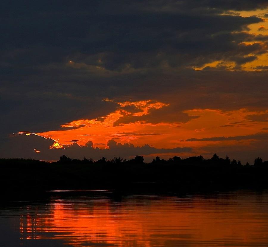 "фото ""Слоями 2"" метки: пейзаж, закат, ночь"