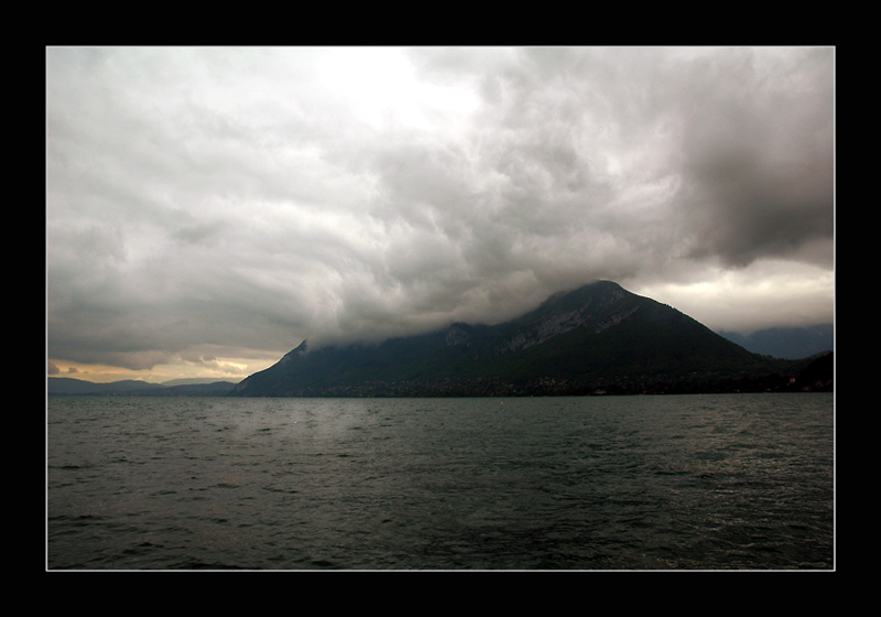 "photo ""The Storm"" tags: landscape, mountains, water"