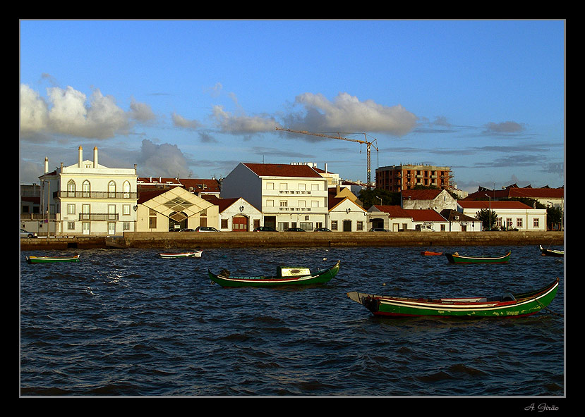 "photo ""Town of fishermen"" tags: architecture, landscape, water"