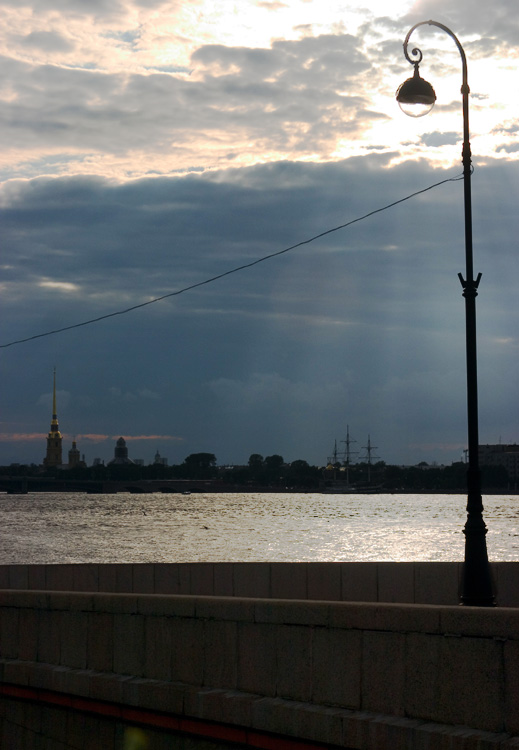 "photo ""Imperial St.-Petersburg#2. July."" tags: architecture, landscape, sunset"
