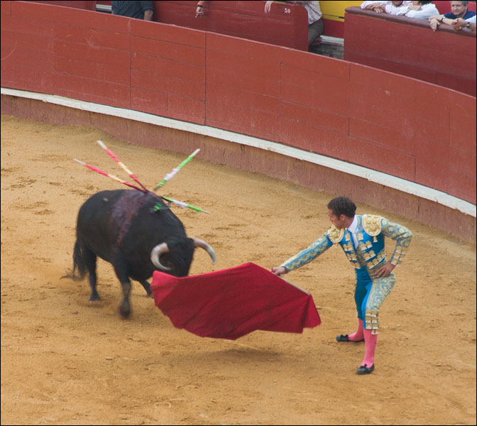 "photo ""Corrida, part 3"" tags: travel, genre, Europe"