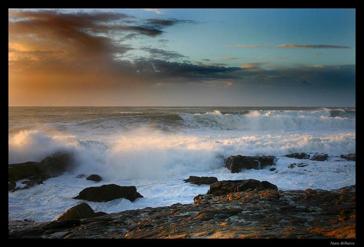 "photo ""Beautiful Atlantic"" tags: landscape, sunset"