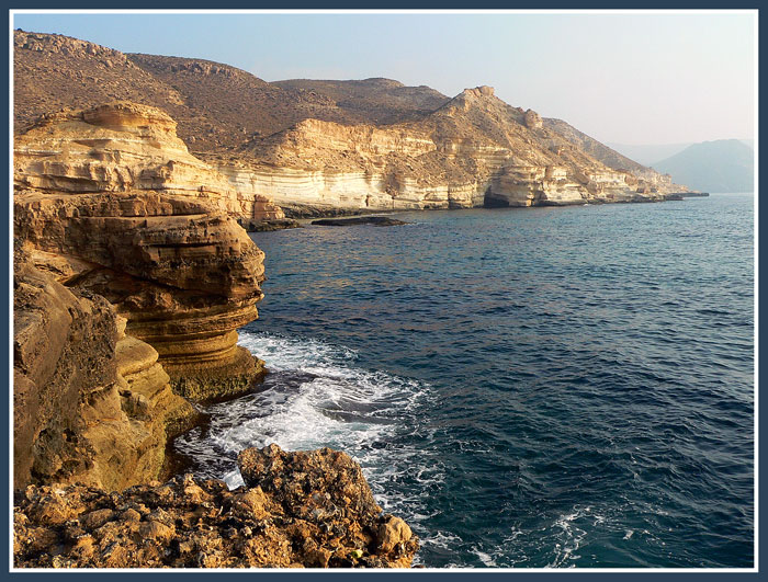 "photo ""The Cabo de Gata 3"" tags: landscape, mountains, water"