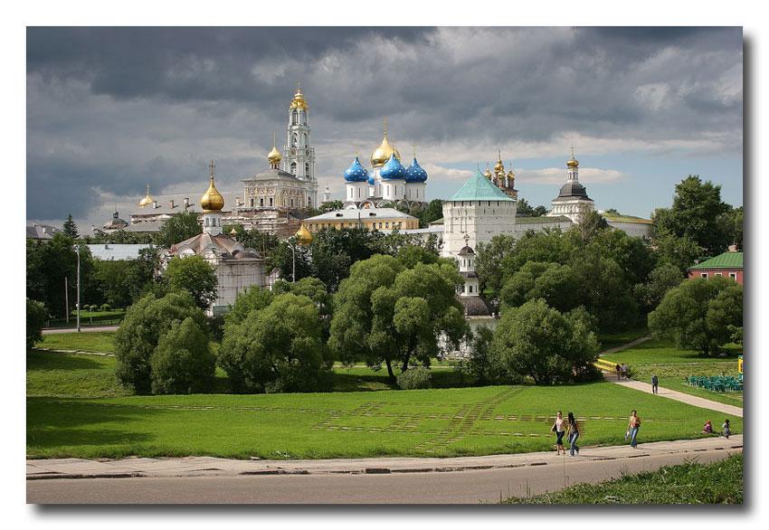 "photo ""Troice-Sergieva Lavra"" tags: architecture, landscape,"