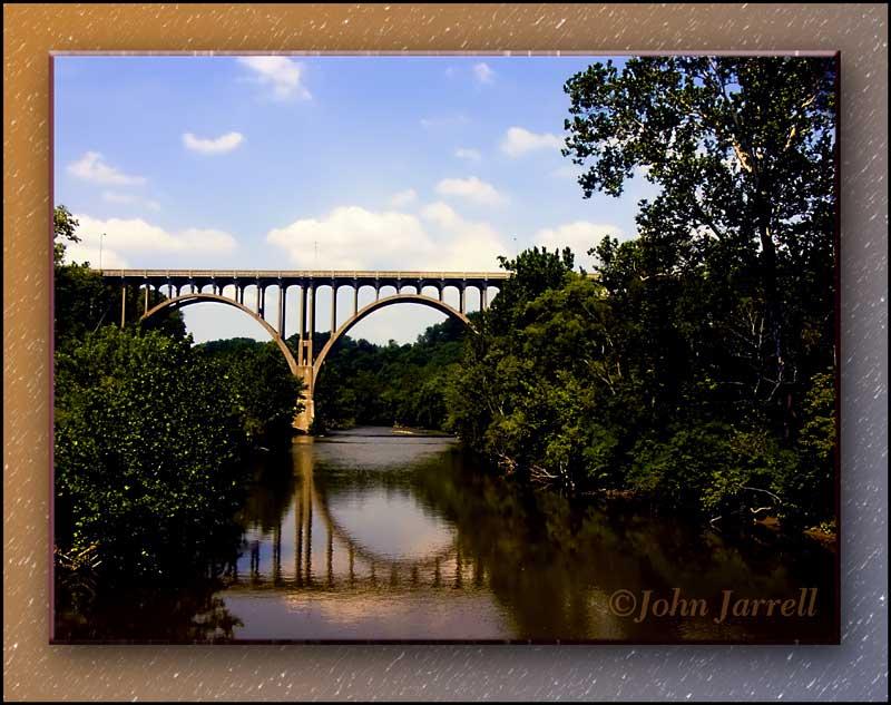 "photo ""Valley Bridge"" tags: landscape, architecture, summer"