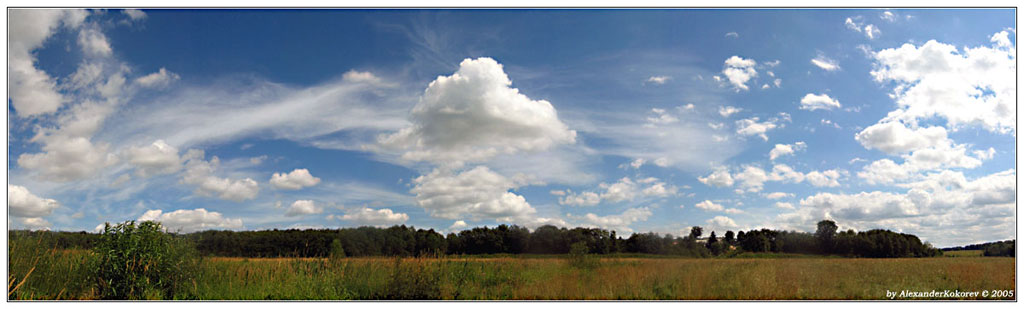 "photo ""Panorama #2"" tags: landscape, clouds"