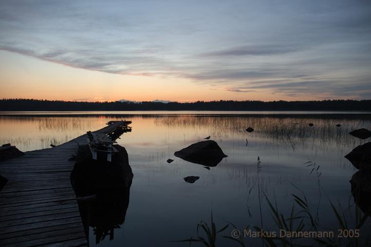 "photo ""Laituri"" tags: landscape, sunset"