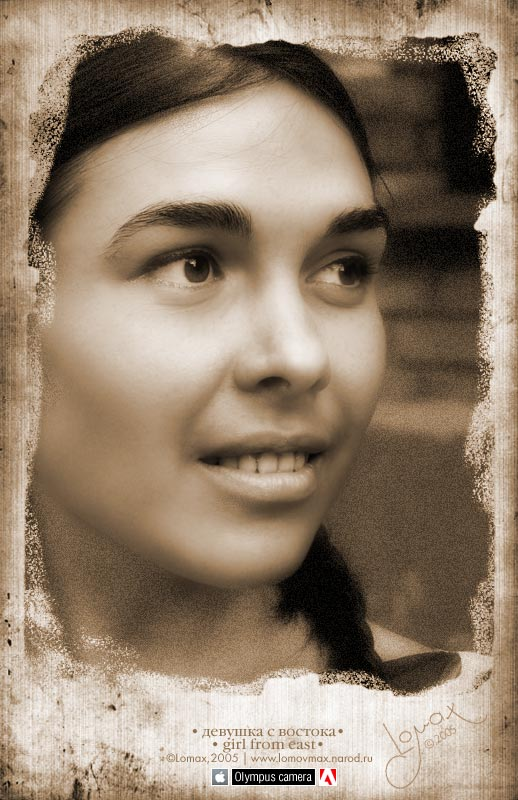 "photo ""girl_from_east"" tags: portrait, old-time, woman"