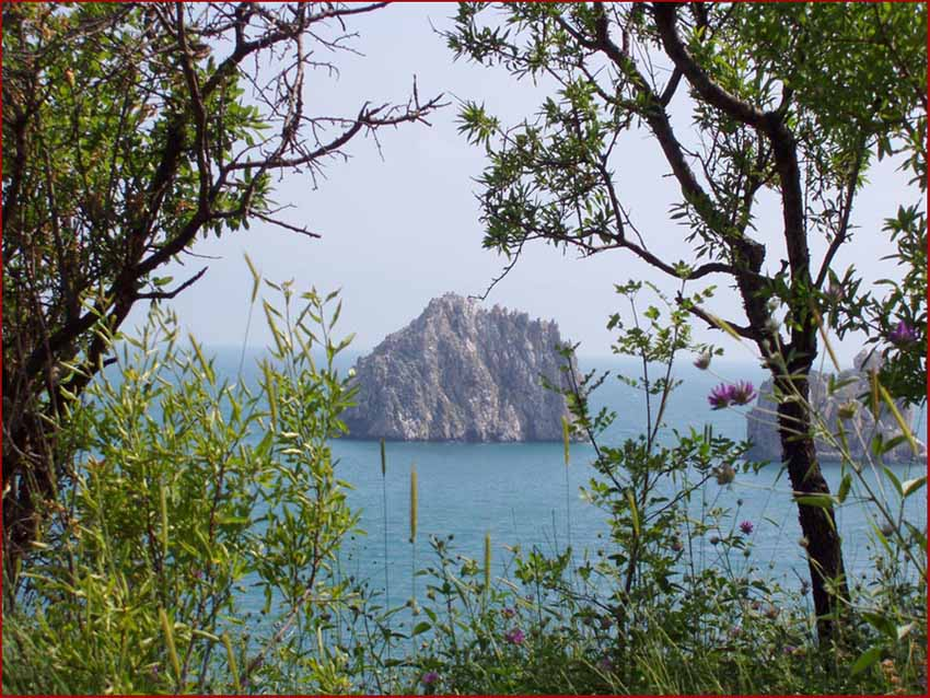 "photo ""Rock"" tags: travel, landscape, water"