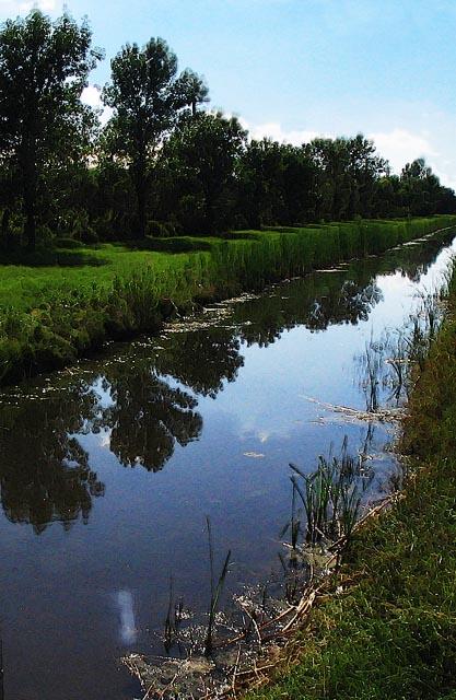 """photo """"Drainage Ditch"""" tags: architecture, landscape,"""
