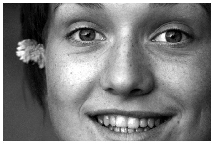 """photo """":)"""" tags: portrait, woman"""