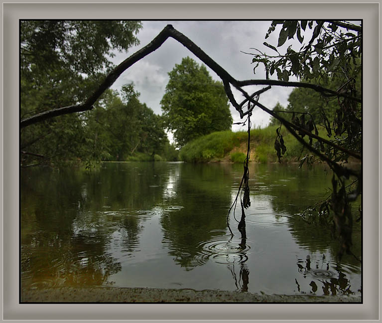 "photo ""Summer rain"" tags: landscape, summer, water"