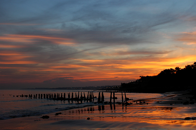 "photo ""Sunset in Pedrouзos-Lisbon"" tags: landscape, sunset"