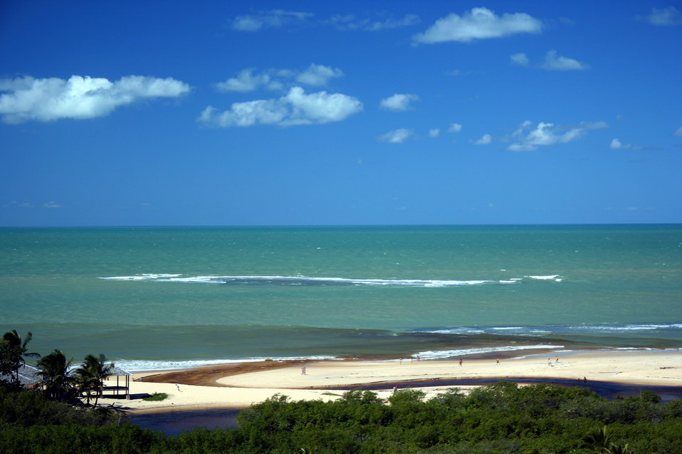 "photo ""Trancoso Bahia Brazil"" tags: travel, landscape, South America, water"