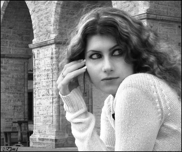 """photo """"Vigdis"""" tags: portrait, woman"""