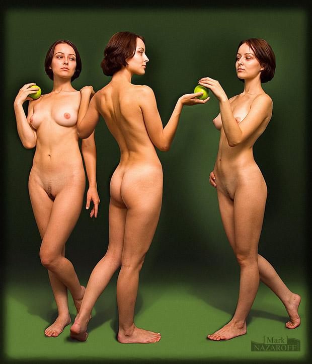 "фото ""Три Евы"" метки: фотомонтаж,"