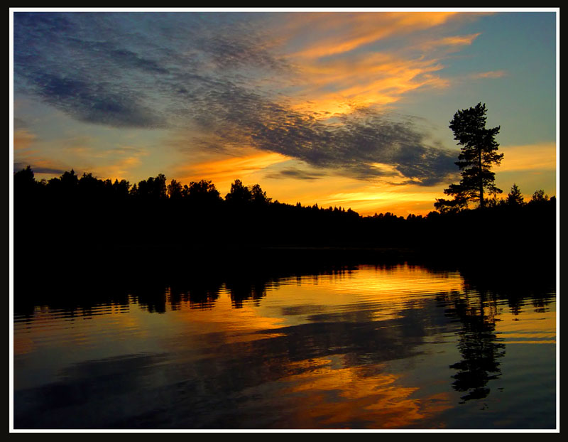 "photo ""Calm (repost)"" tags: landscape, clouds, sunset"
