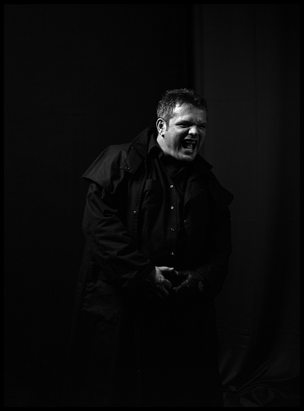 "photo ""The Priest 1/3"" tags: black&white, portrait, man"